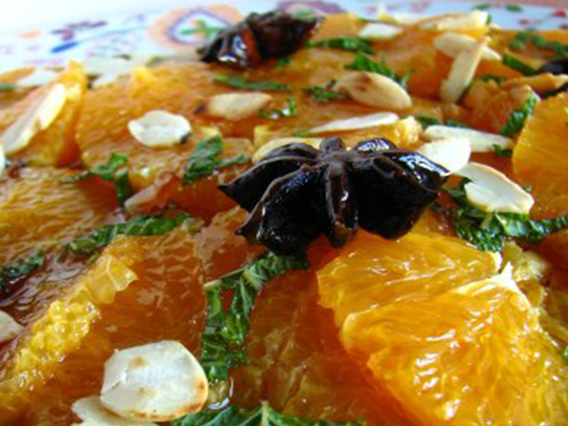Carpaccio-laranja